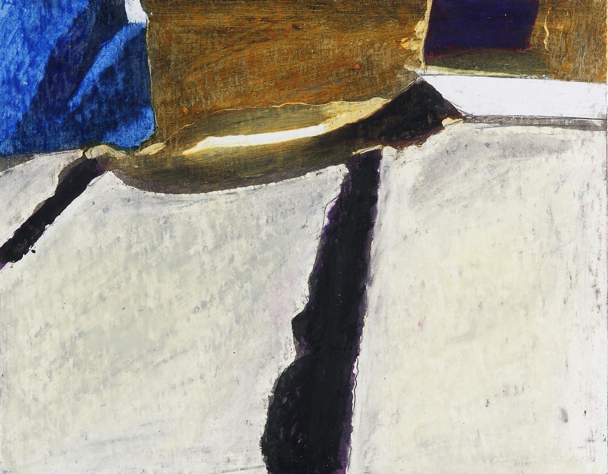 "Margret Storck, ""Manole"", Pastel/Cire, 1995, 17x22 cm"