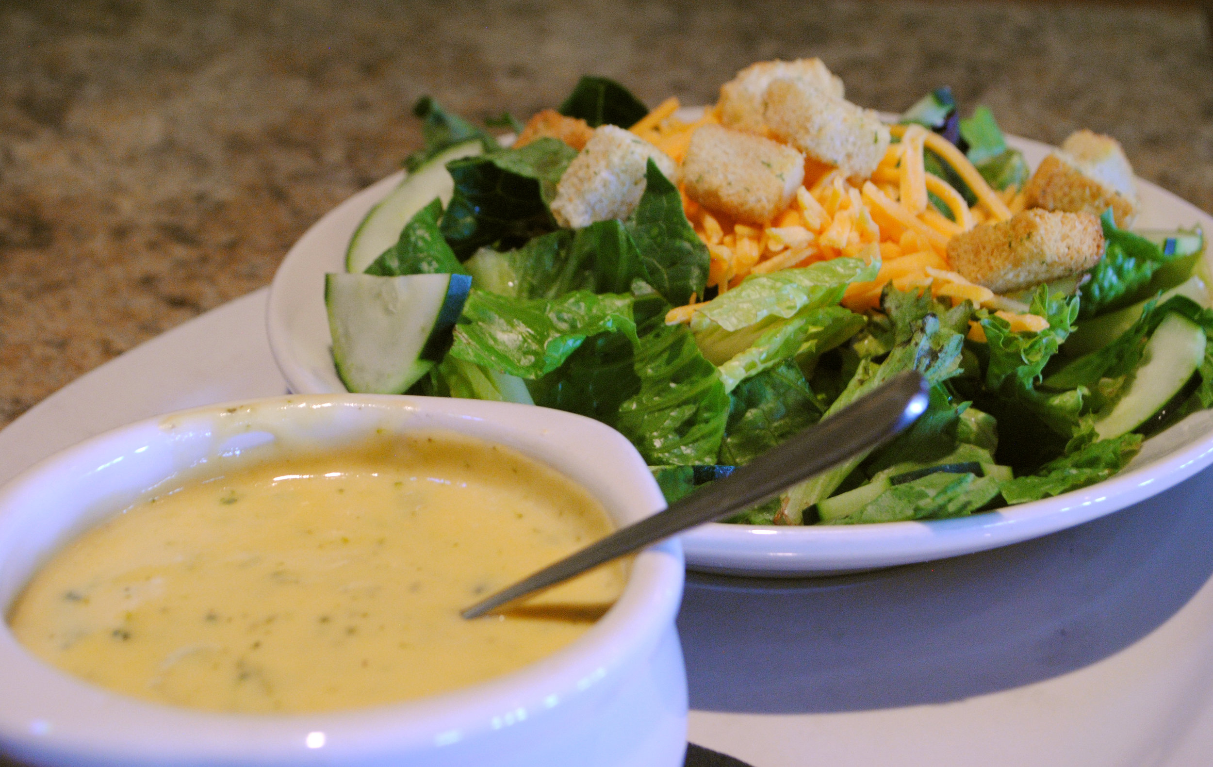 House Salad w/ Daily Soup