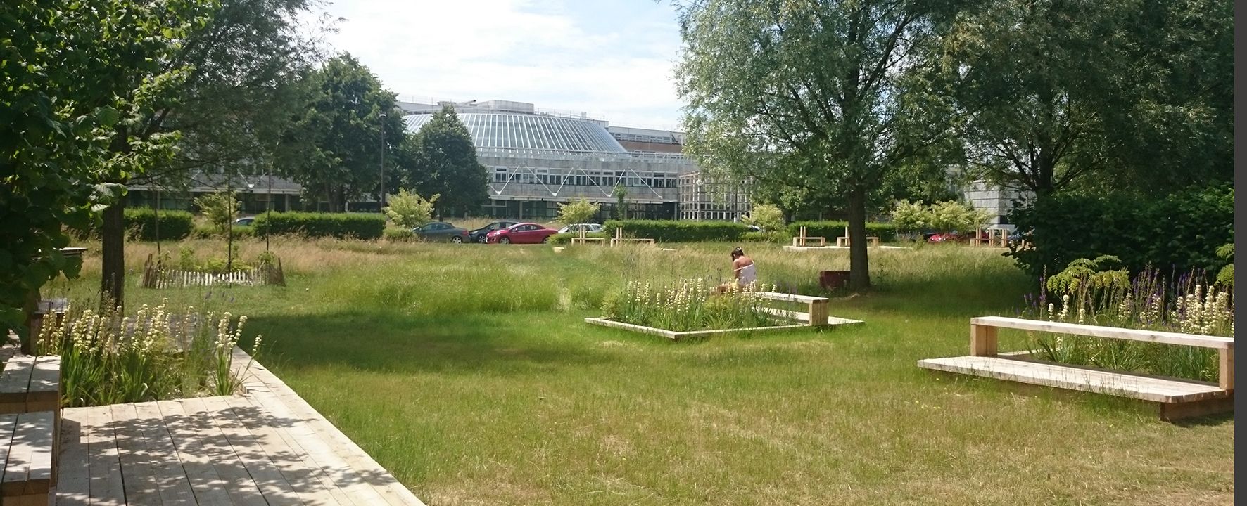 Jardin de la cité Descartes