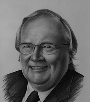 Richard Currie, a Saint John native, worked at Atlantic Sugar Refineries before graduation from Harvard Business School.  He went to work for Loblaw Companies Ltd. in 1972 - where he eventually held the position of President for 25 years.  From June 1996 until May 2002, he was also President of George Weston Limited.  In the Spring of 2003, he was inducted into the Canadian Business Hall of Fame.     Richard Currie, originaire de Saint John, a travaillé à la raffinerie sucrière Atlantic avant de compléter ses études au Harvard Business School.  Il commence à travailler pour la société Loblaws en 1972 oú il occupe éventuellement le poste de président pendant 25 ans.  De juin 1996 jusqu'en mai 2002, il siège également comme président de la société George Weston limitée.  Il a été intronisé a Temple de la renommée des affaires du Canada en 2003.