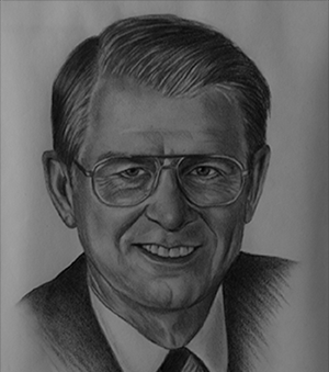 Claude I. Taylor's career at Air Canada spanned more than 43 years.  The Salisbury native started in 1949 as a ticket agent at the Moncton Airport and by 1976 had worked his way up to president and chief executive officer of the government owned company.  In 1984, Mr. Taylor was named chairman of the board.  He retired in 1992, retaining the honorary title of chairman emeritus of Air Canada.     Le carrière de Claude I. Taylor avec Air Canada s'étend sur plus de 43 ans.  Originaire de Salisbury, M. Taylor a débuté sa carrière en 1949 comme préposé aux billets à l'aéroport de Moncton avant d'occuper le poste de président et chef de la direction de la société gouvernementale en 1976.  En 1984, il a été promu président du conseil.  Il a pris sa retraite en 1992, en conservant le titre de président émérite d'Air Canada.