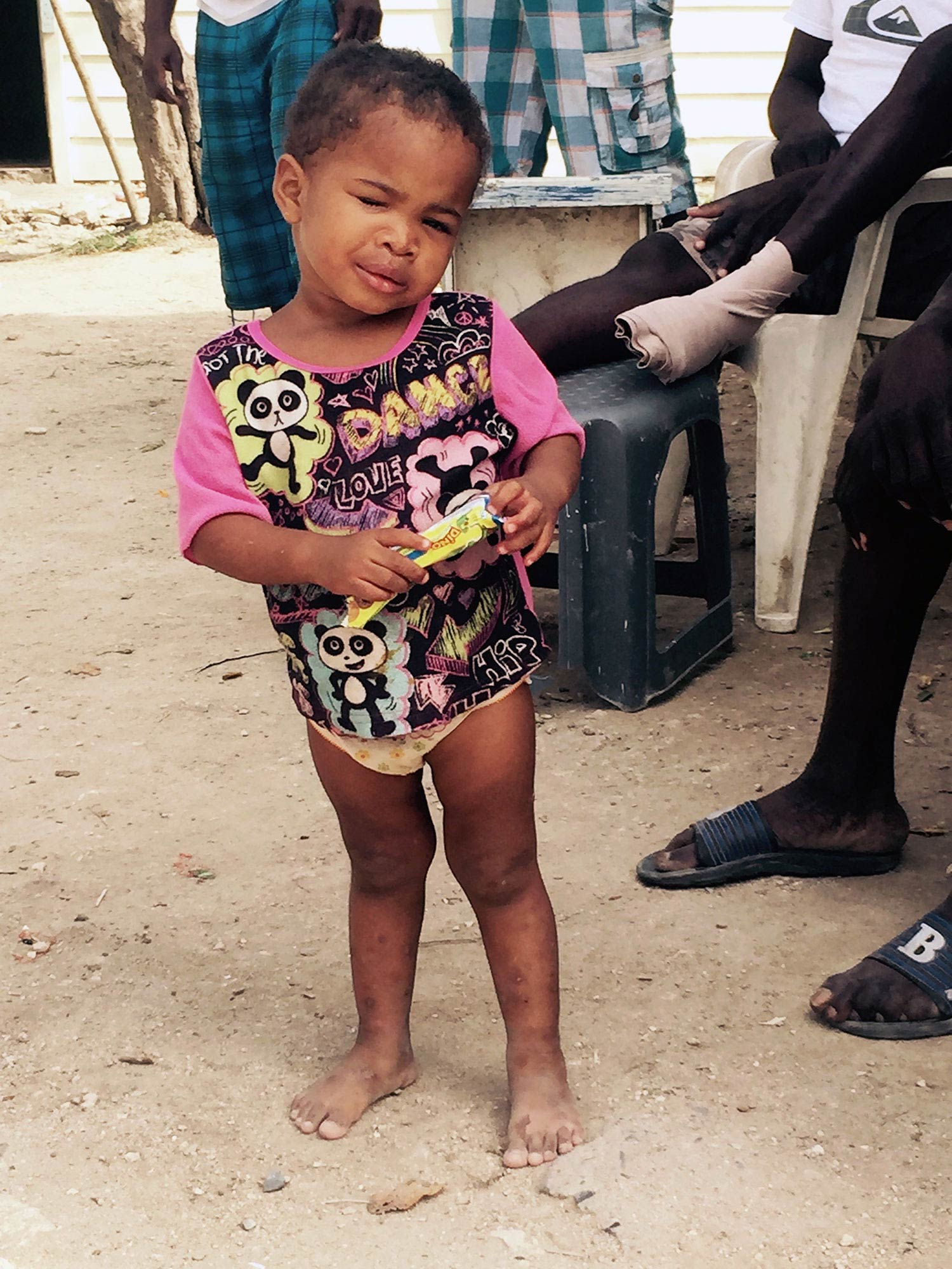 Sara was born in 2013 blind in one eye. Providing Sara daily essentials such as nutrient dense foods, clothing, shoes, educational supplies, and toys will greatly increase her opportunities for a successful future despite her challenges.
