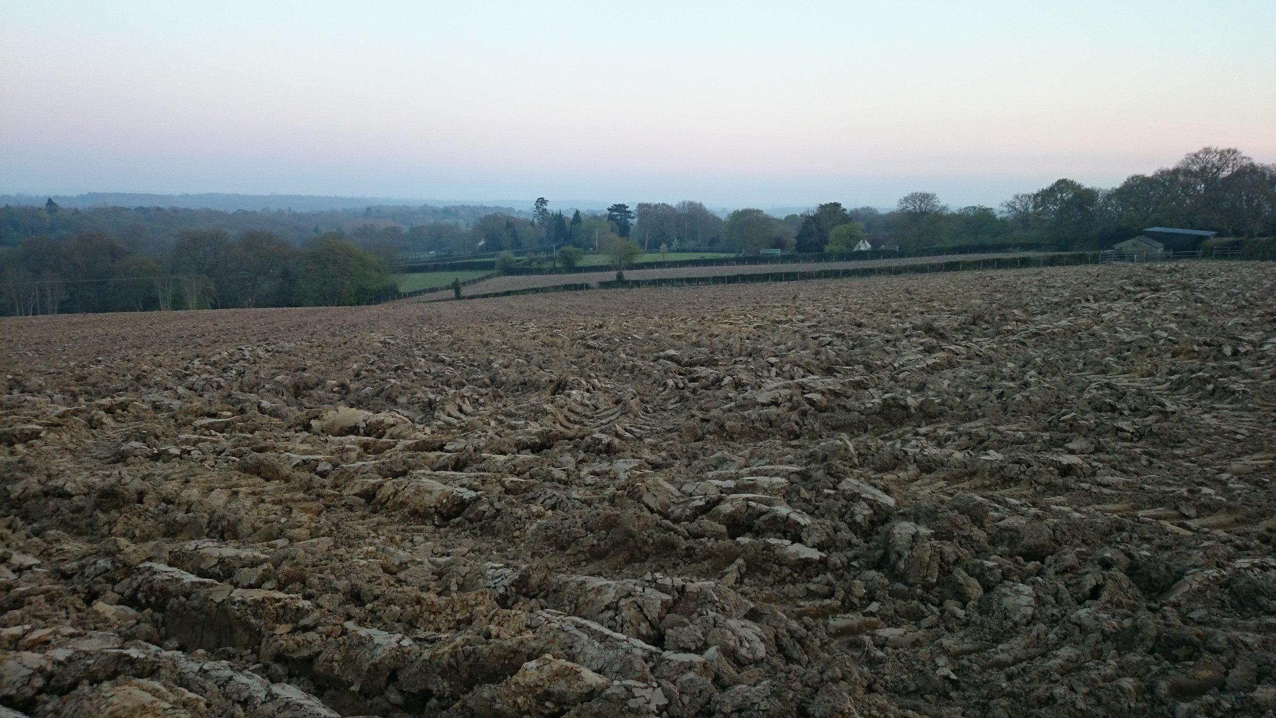 April 2015 - Ploughed for planting