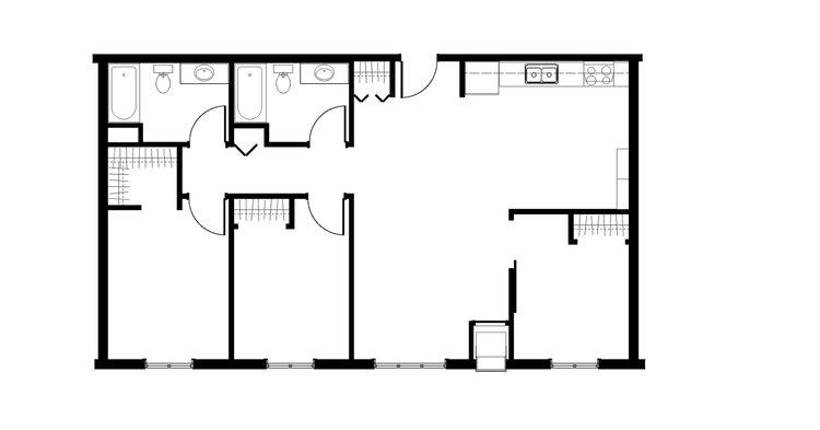 3 cuartos · 2 baños · 1,152 pies cuadrados ·