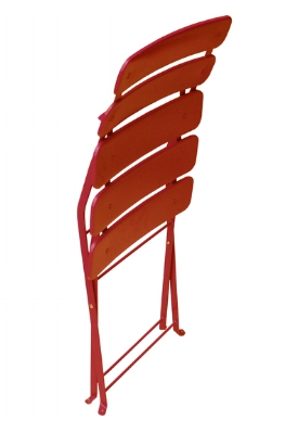 Jardin Red Chair Folded