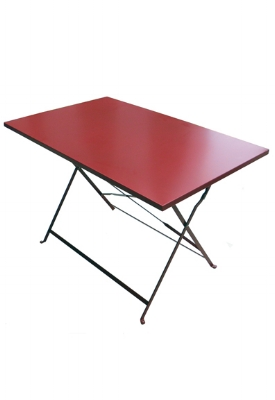 "Jardin 28x44"" Table (Shown in Red but available and in stock in all 4 colors)"