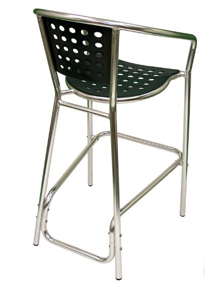 South Beach Bar Chair rear
