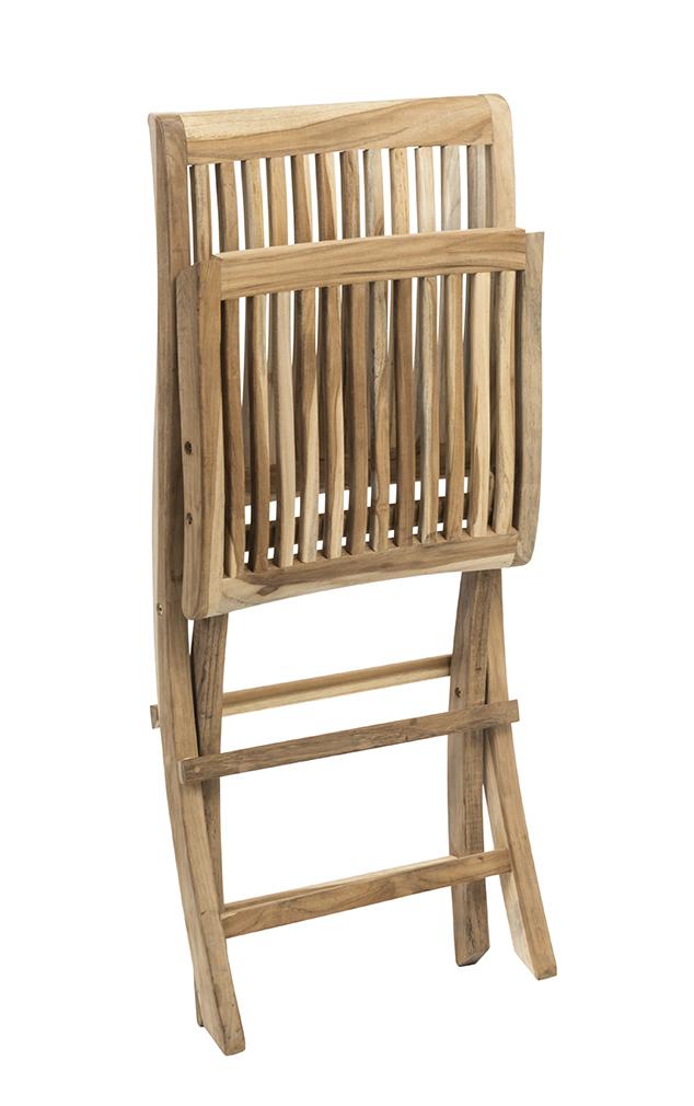 Alice Folding Chair (Folded)