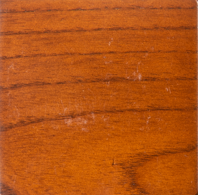 Cherry Stain on 3x3 in. Sample