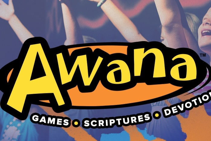 Awana Clubs - Kindergarten-8th grade. On Sunday nights during the school year, your kids will play games and enjoy bible lessons while spending time with their friends. Awana begins at 5:45 PM.