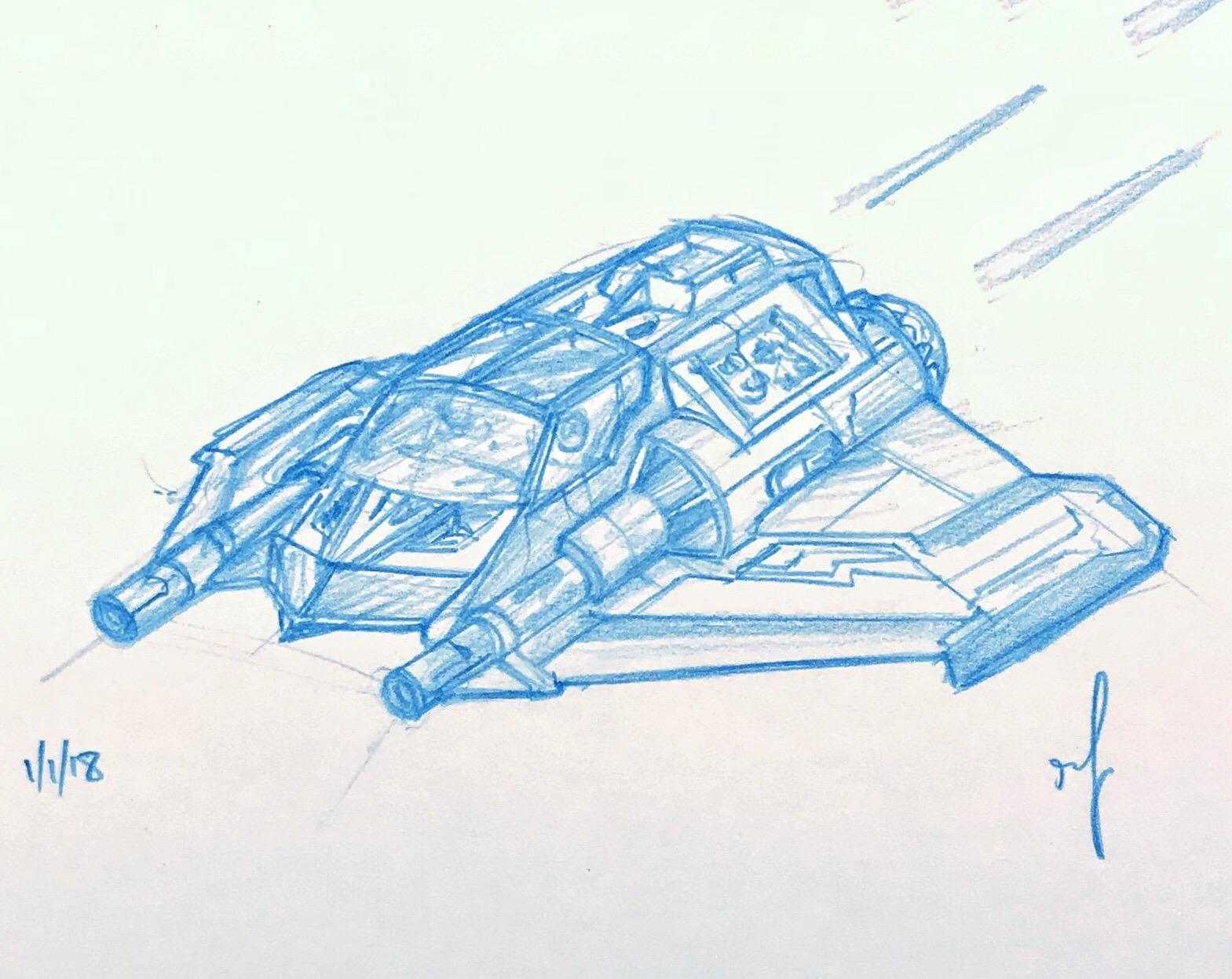 BUBO Sketch