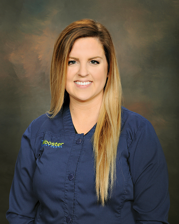 Kaleigh is a registered dental hygienist.