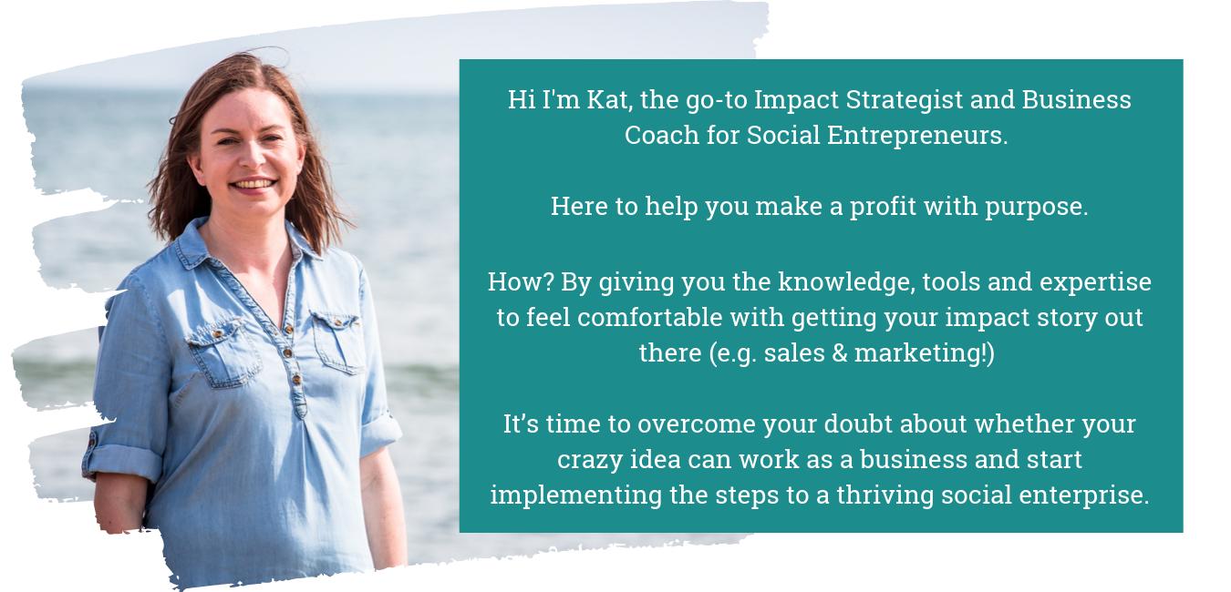 Kat Luckock Social Impact  Strategist, Coach & Business Mentor
