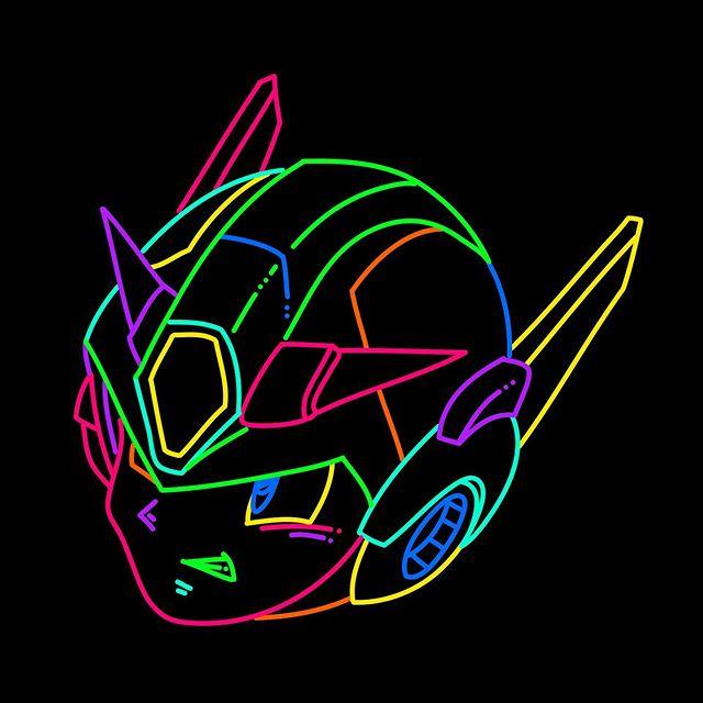 Mega Man // 1987. #illustration #art #drawing #sketch #artist #artwork #digitalart #illustrator #ink #draw #instaart #design #sketchbook #artistsoninstagram #graphicdesign #doodle #fanart #creative #artoftheday #cartoon #procreate #love #characterdesign #bhfyp