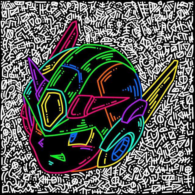Mega Man // Doodles included. #illustration #art #drawing #sketch #artist #artwork #digitalart #illustrator #ink #draw #instaart #design #sketchbook #artistsoninstagram #graphicdesign #doodle #fanart #creative #artoftheday #cartoon #procreate #love #characterdesign #bhfyp
