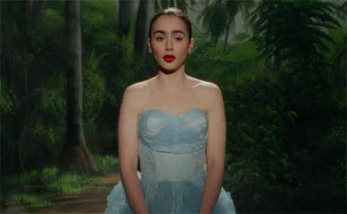 """Lily Collins in """"Rules Don't Apply."""""""