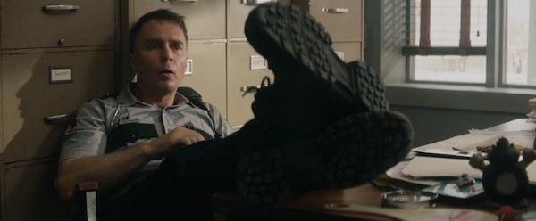 Sam Rockwell as Officer Dixon.