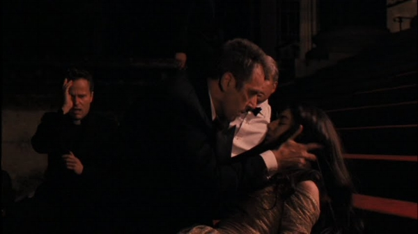"""King Lear and Cordelia, Hidetora and Saburo in """"Ran,"""" and Michael and Mary in """"Godfather III."""""""