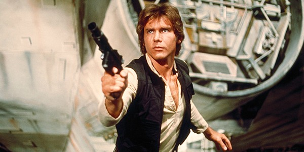Or rather, Harrison Ford is Solo.