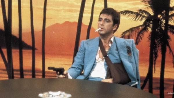 Al Pacino as Tony Montana in Brian De Palma's  Scarface  (1983)