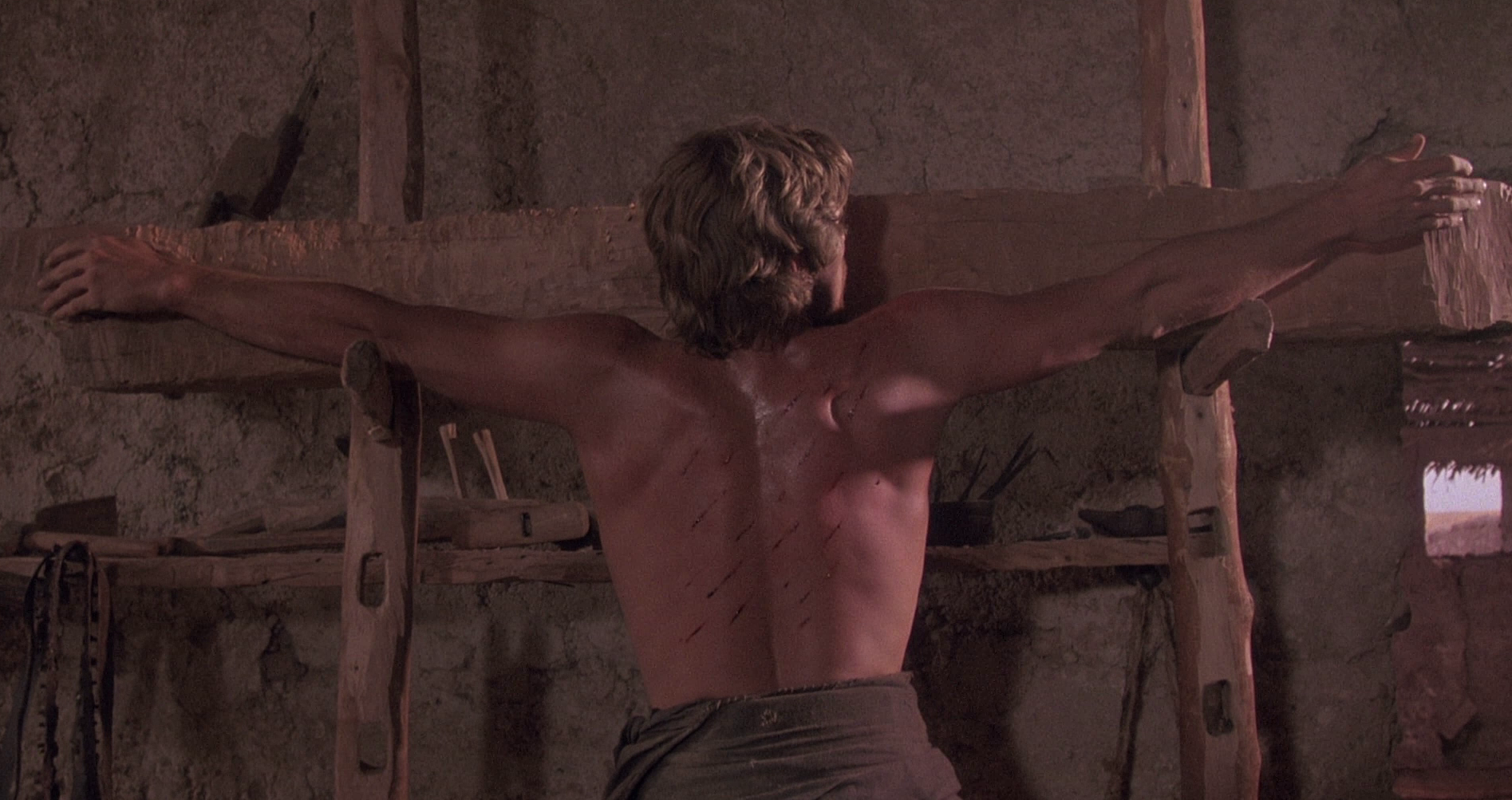 Impressing oneself on the image:  Life Lessons  (1989) and  The Last Temptation of Christ  (1988)