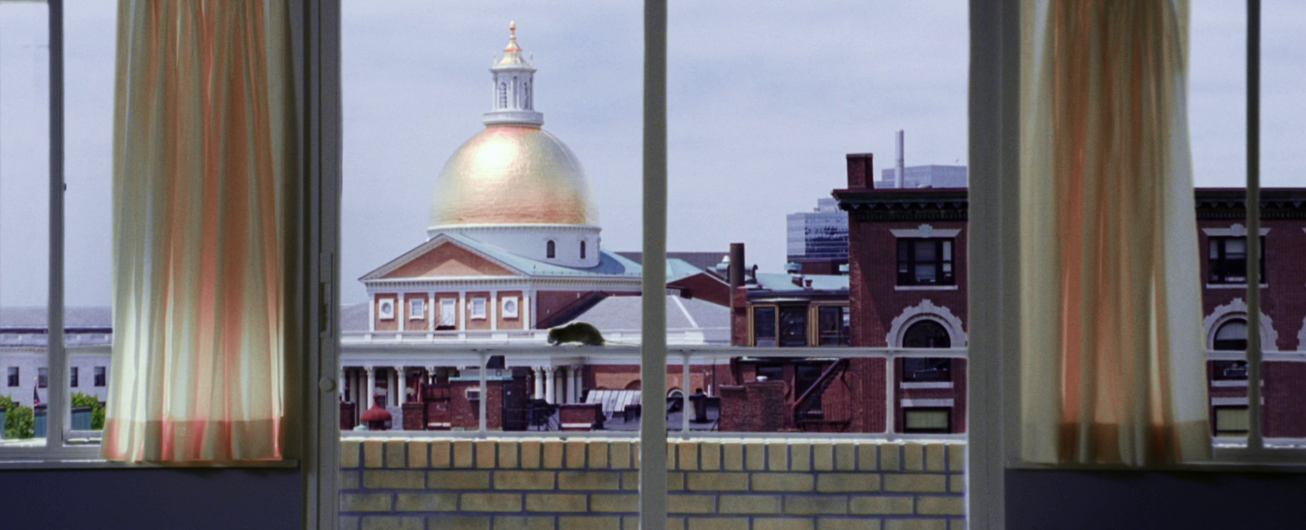 The last image that haunts everything preceding it: Beacon Hill in  The Departed  (2006)