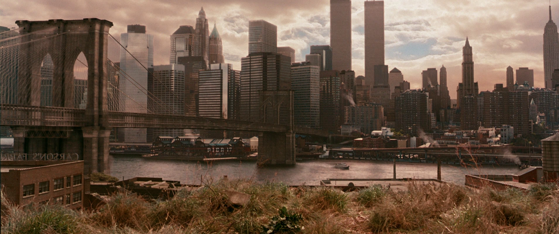 Manhattan's ever-changing countenance:  Gangs of New York  (2002)