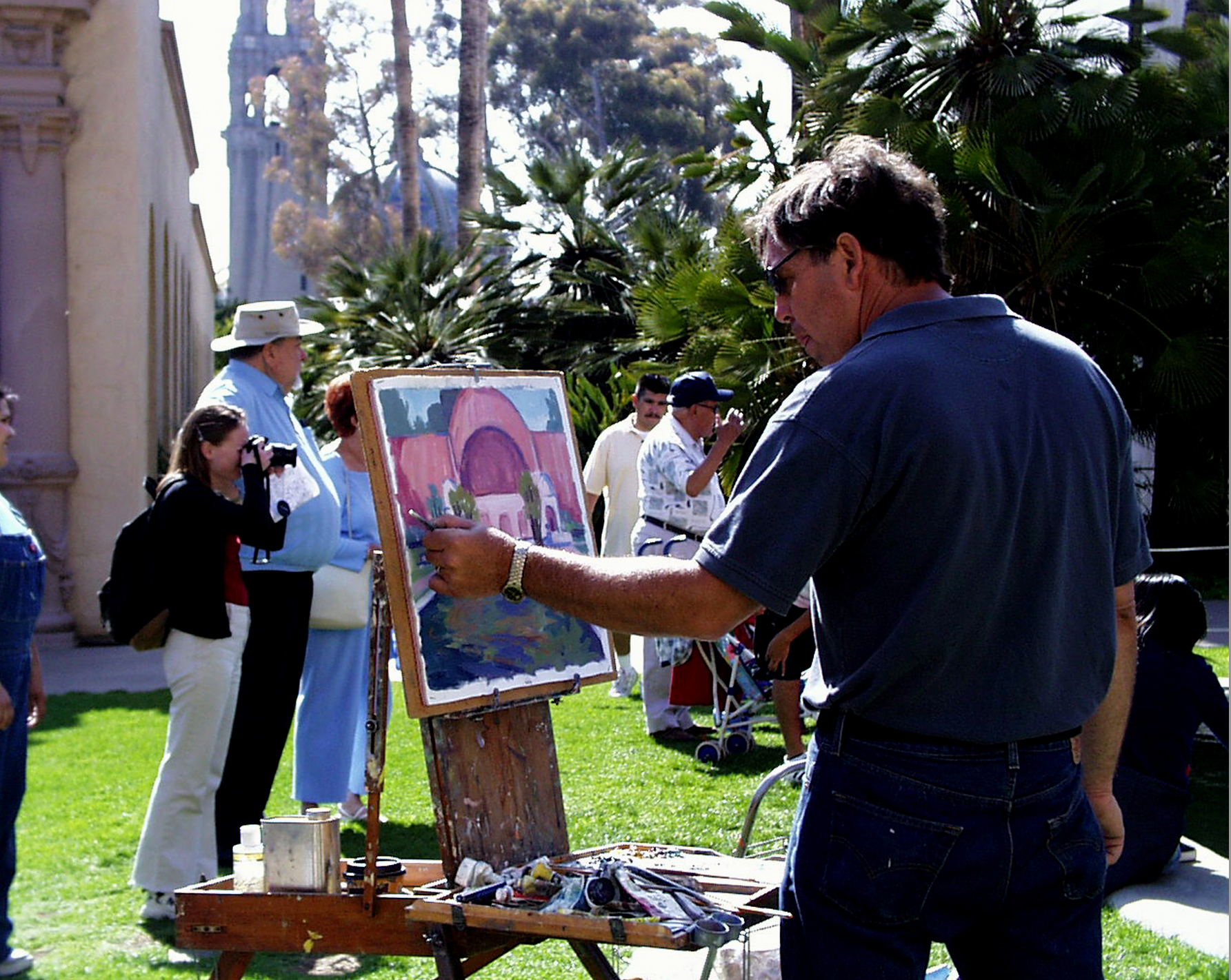 Artist in the Spanish Village - credit Joanne DiBona.jpg