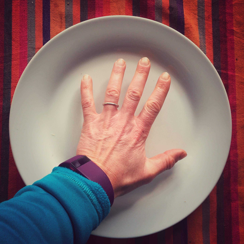 Eatwell plate size comparison