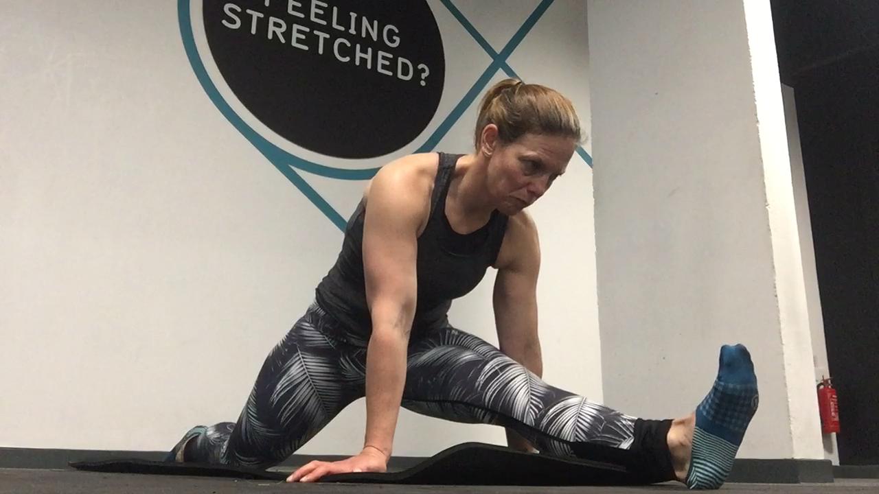 Hamstring & Hip Flexor stretch