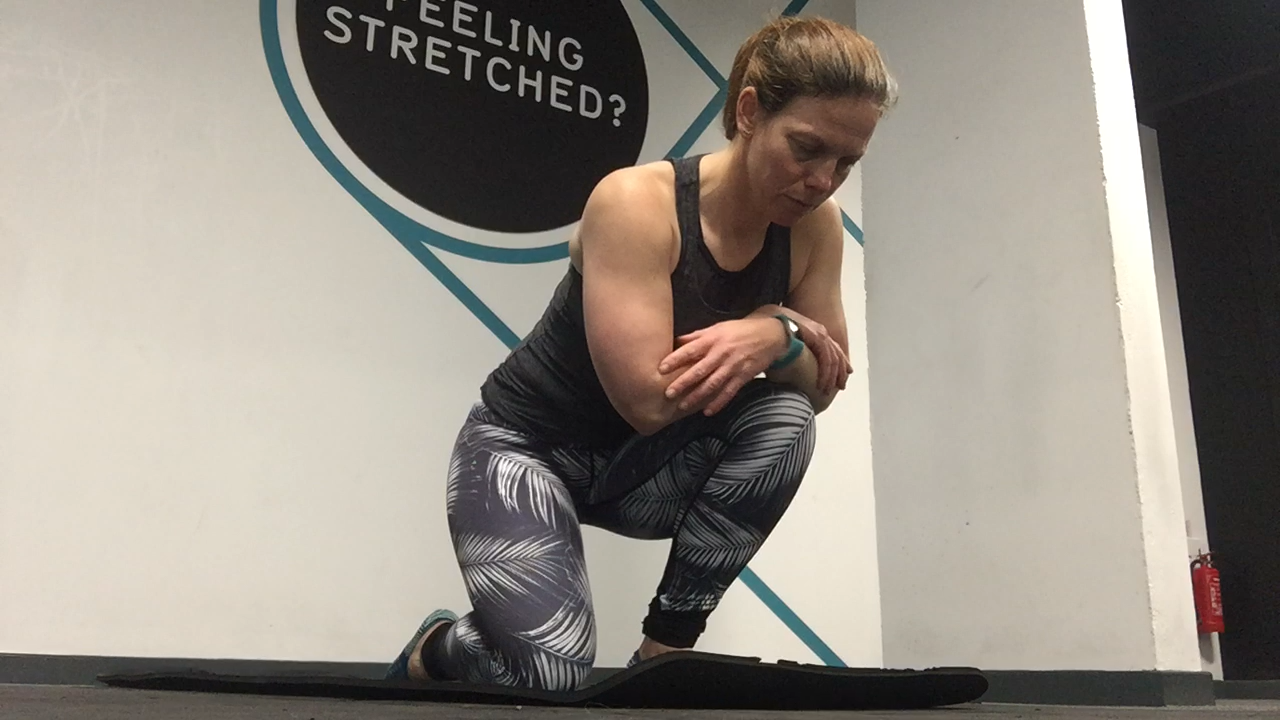 Soleus (calf) Stretch