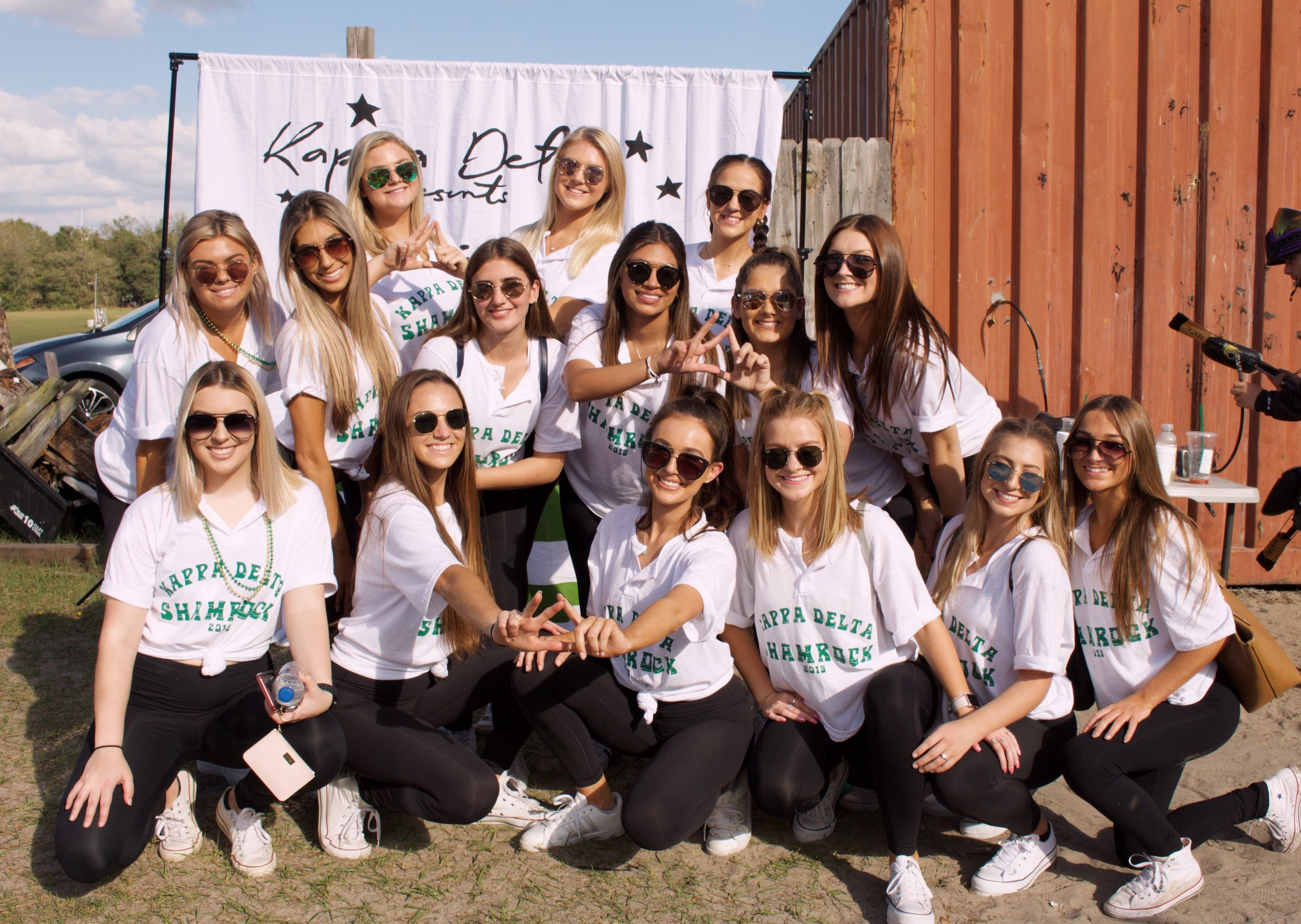 Kappa Delta - Since 1981, Kappa Delta has been a proud supporter of Prevent Child Abuse America. The University of South Florida's chapter of Kappa Delta hosts their annual Shamrock philanthropy in support of the abused and battered children in our community and country. We recognize that every day we each have the opportunity to help create the kind of nation we want to live in. We also recognize that when all children don't have equal opportunity for healthy growth and development, we put our future as a society at risk. Our annual Shamrock event brings together many people in support of a great cause while having a good time. At last year's year's event, with the help of donations, we raised over $20,000!