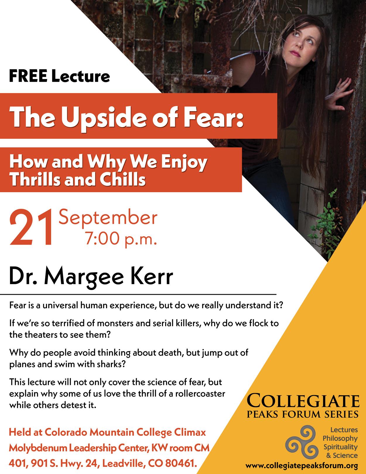 Sept. 21, 2017 Dr. Margee Kerr