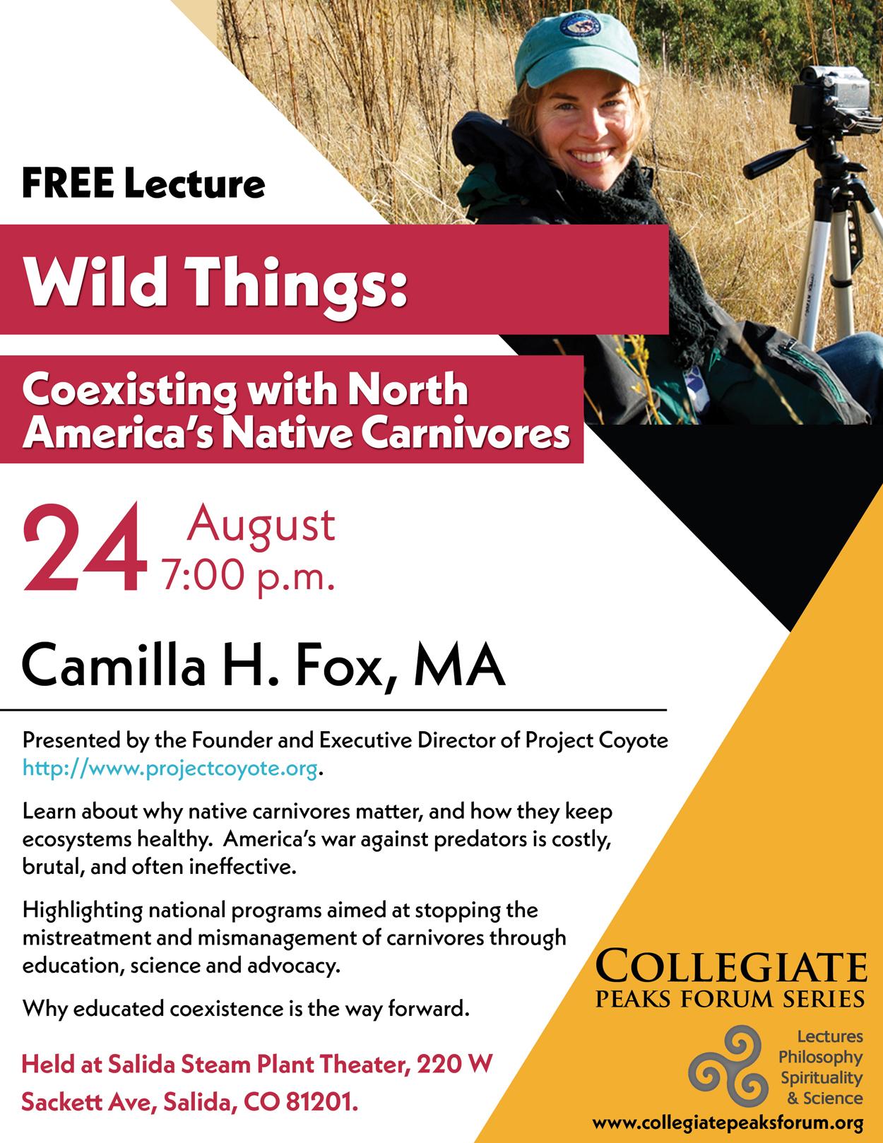 July 27, 2017 Camilla H. Fox, MA
