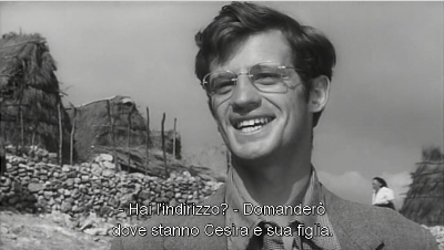 Michele saluta Cesira e Rosetta.
