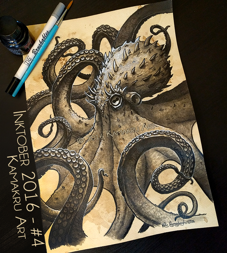Ink & Coffee #4 - The Kraken