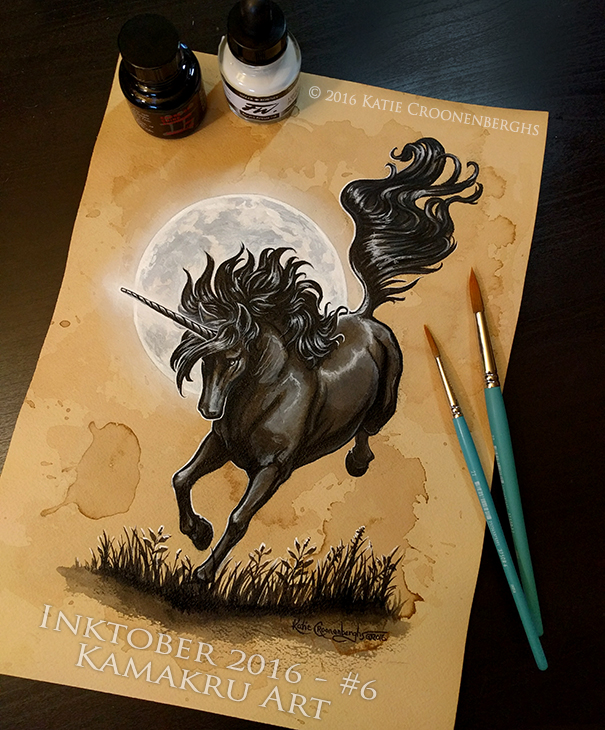 Ink & Coffee #6 - The Black Unicorn