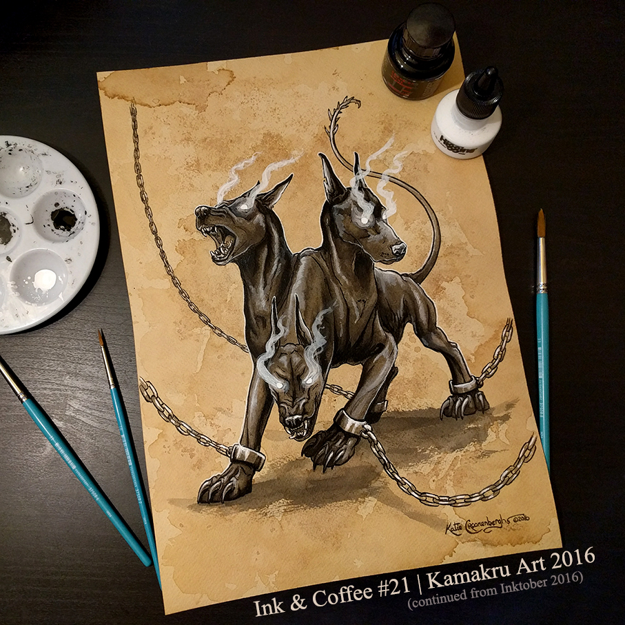 Ink & Coffee #21 - Cerberus