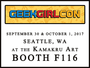 geek  girl con booth location 2017