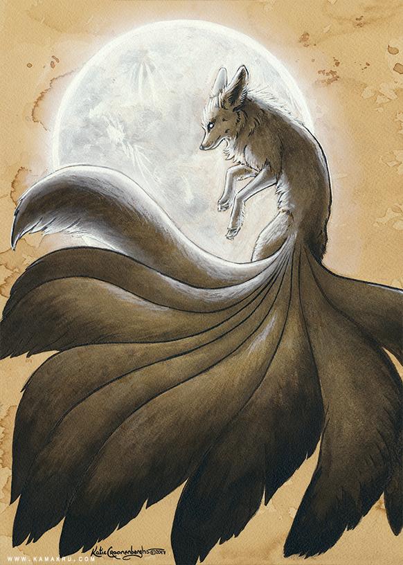 The Nine Tailed Kitsune