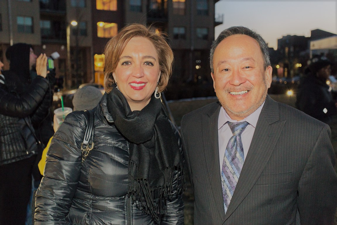 Katica Roy & Derek Okubo (Mayor Hancock's Office)