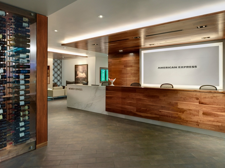 American Express Centurion Lounge at SFO