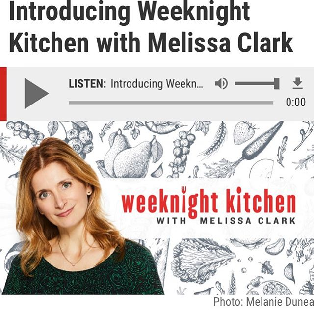 My brand new podcast with @splendidtable is live and available for a free download! This is thrilling ❤️ come listen along 📷: @melaniedunea