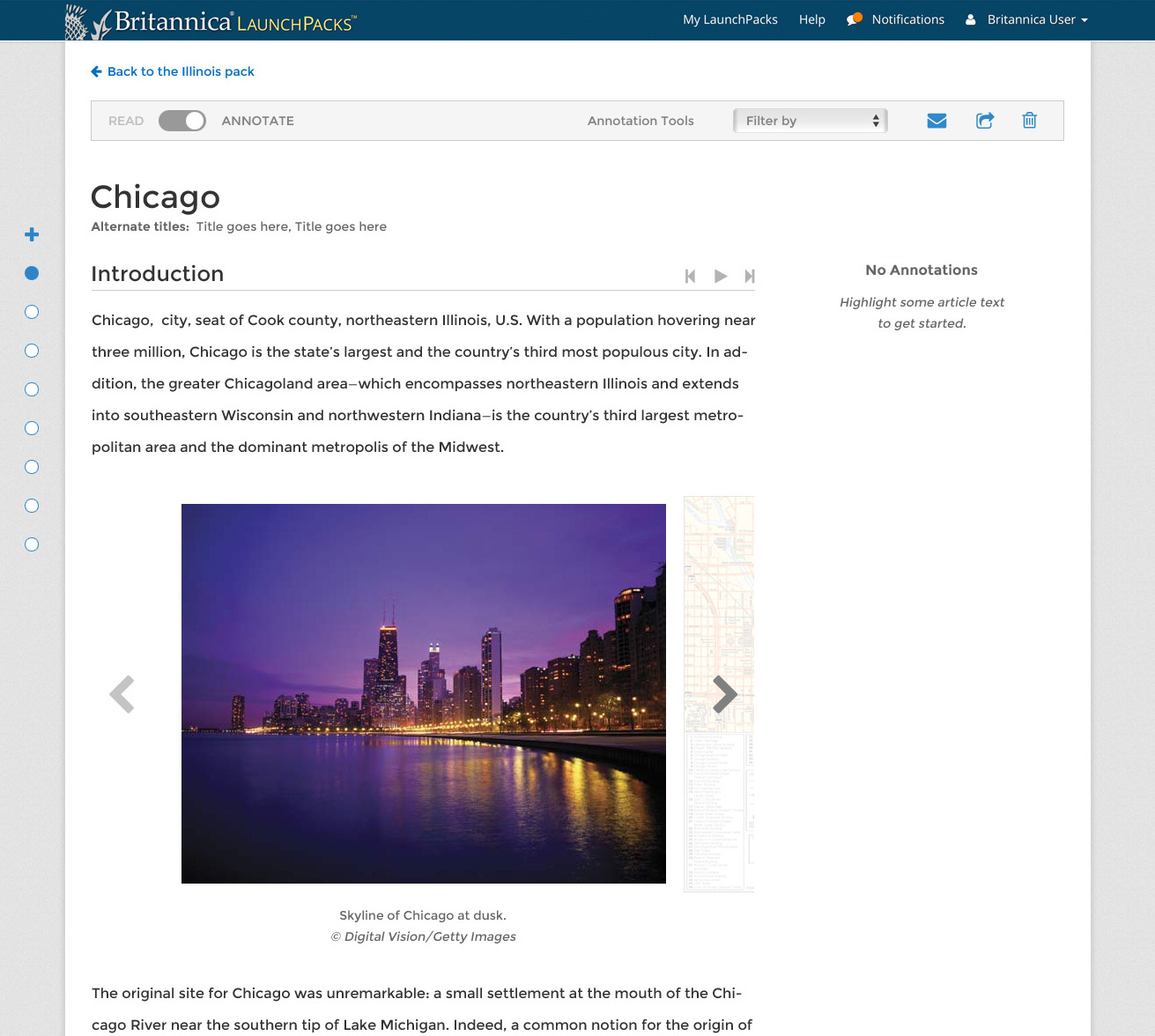 After I redesigned the articles pages, we were able to use the screen space in a much better way to accommodate annotations. Our users were delighted.