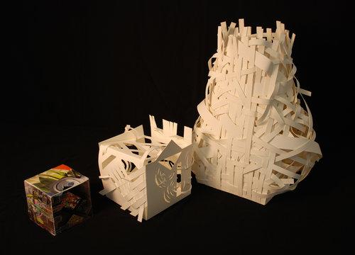 Grades 9-10 Unit Plan: Paper Translations   2D-3D Design and Sculpture
