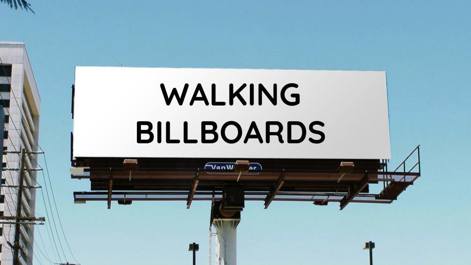 Grade 8 Lesson Plan: Walking Billboards    Screenprinting, T-Shirt Design