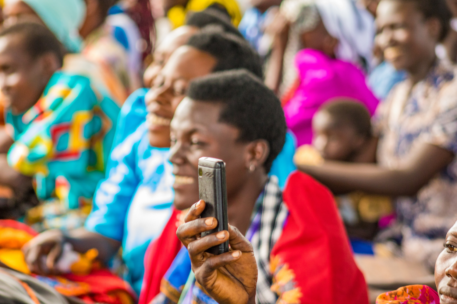 The parents of the students glowed with pride as they watched their children perform. Many parents took photos and videos on their cell phones. All of them cheered with delight. The parents' reactions show that there is reason to hope that these students will stay in school.