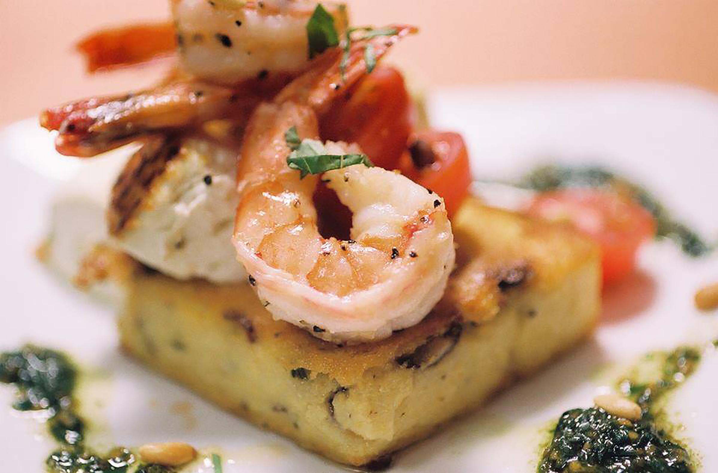Shrimp Polenta