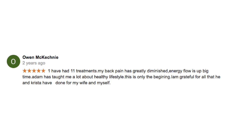 Copy of Dr. Adam Markew Testimonial
