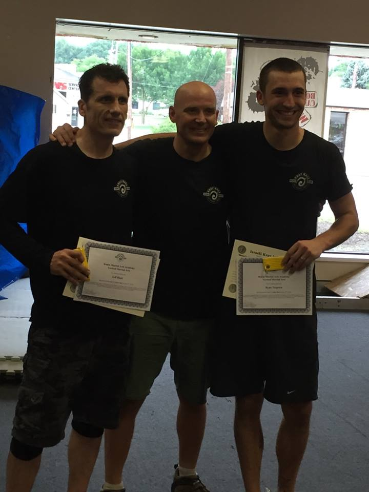 Ronin Krav Test July 2016 Ryan T & Jeff H.jpg